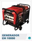 Generador Honda EM10000