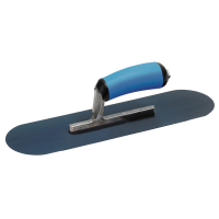 Fratacho manual redondo de acero. Nº: 11752 - Medida: 508 x 127 mm Nº: 11751 - Medida: 457 x 127 mm Nº: 13155 - Medida: 356 x 102 mm
