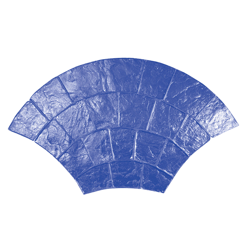 Molde para hormigón estampado Marshalltown tipo adoquín circular