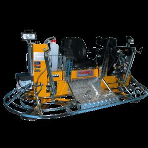 Allanadora doble Barikell con control hidraulico Click Maquinas