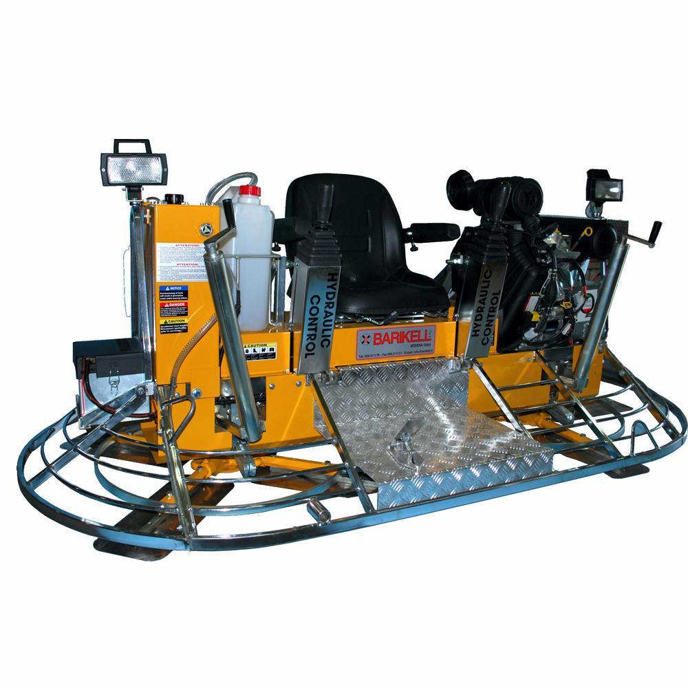 Allanadora doble Barikell con control hidráulico